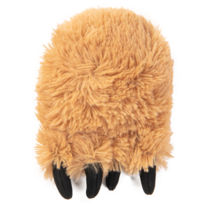 Tough 'N Fun Fuzzy Bear Foot Medium