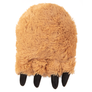 Tough 'N Fun Fuzzy Bear Foot Large